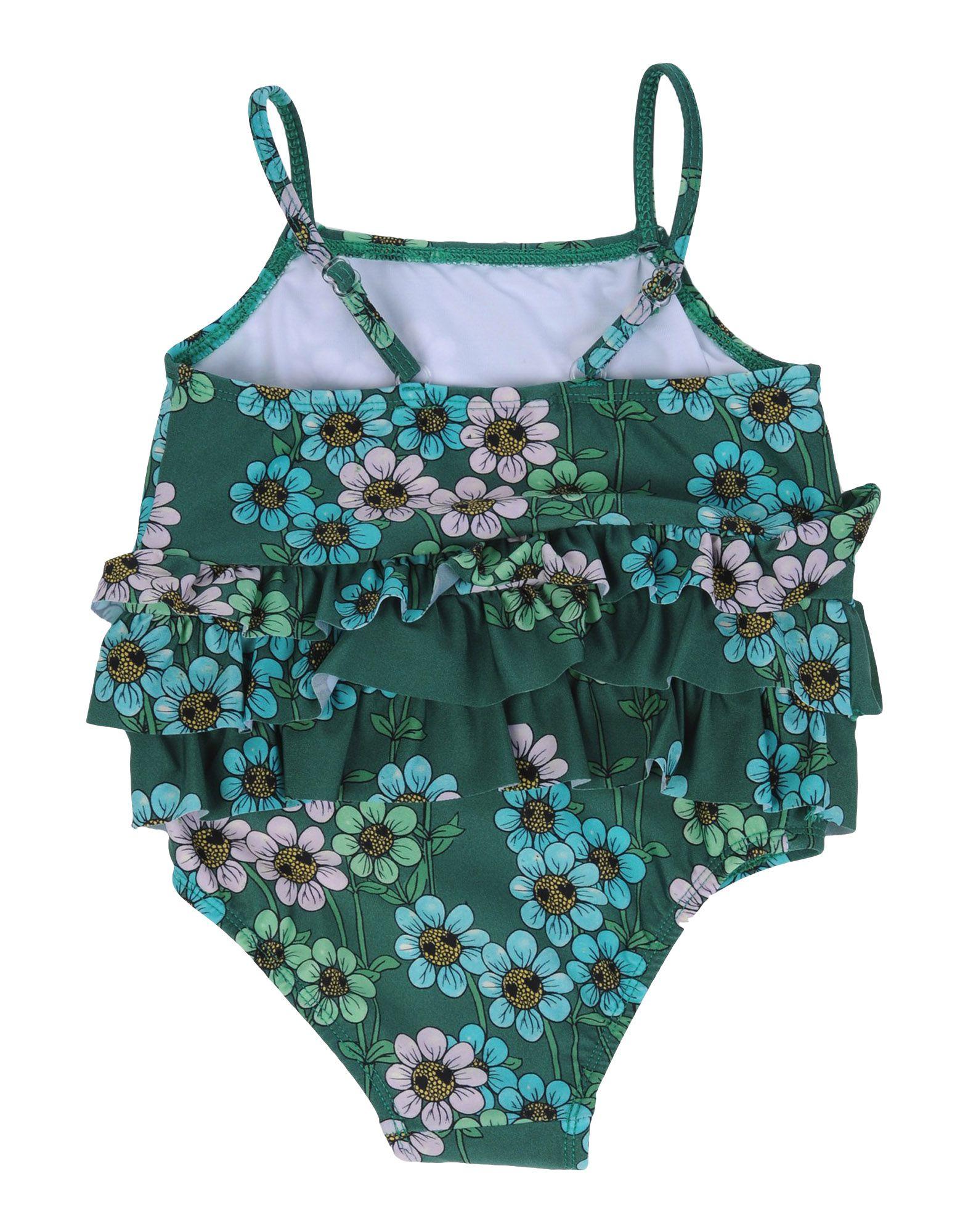 - MINI RODINI Mädchen 0-24 monate Badeanzug Farbe Grün Größe 5, 47199575RS-5