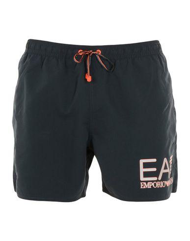 EA7 Herren Badeboxer Dunkelblau Größe 46 100% Polyester