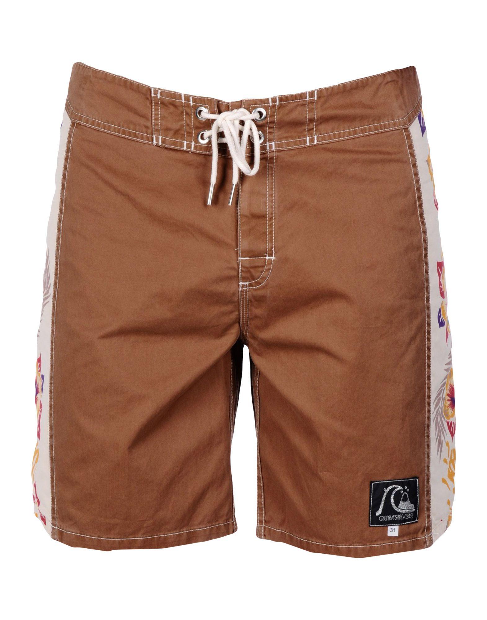 QUIKSILVER Пляжные брюки и шорты шорты пляжные детские quiksilver hightechyth16 real teal