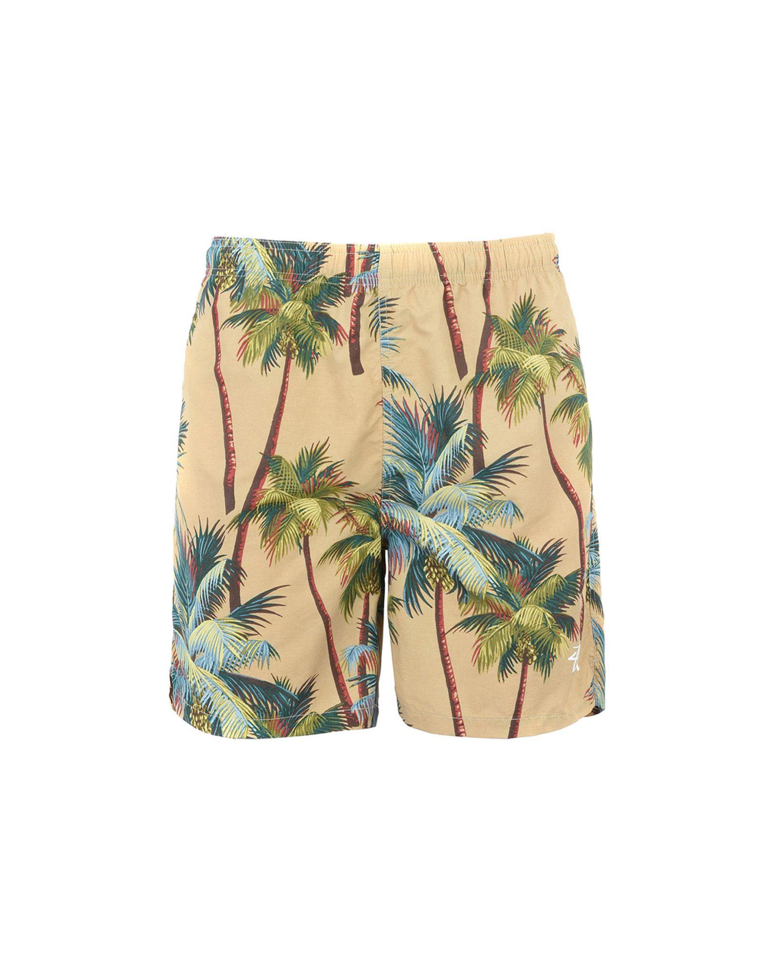 STUSSY Пляжные брюки и шорты шорты пляжные globe havana pool short multi coloured