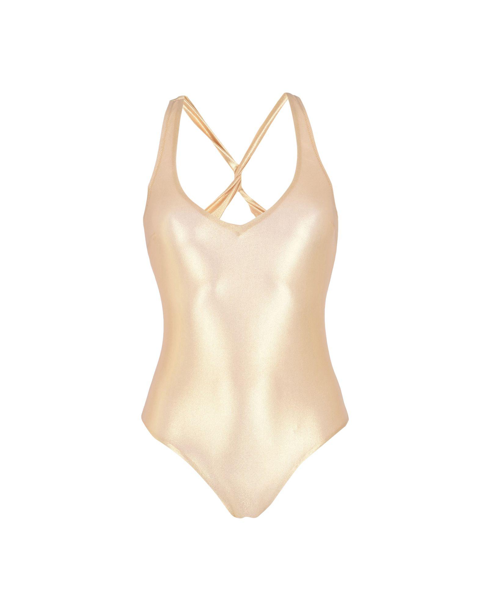 GEORGE J. LOVE Damen Badeanzug Farbe Gold Größe 4