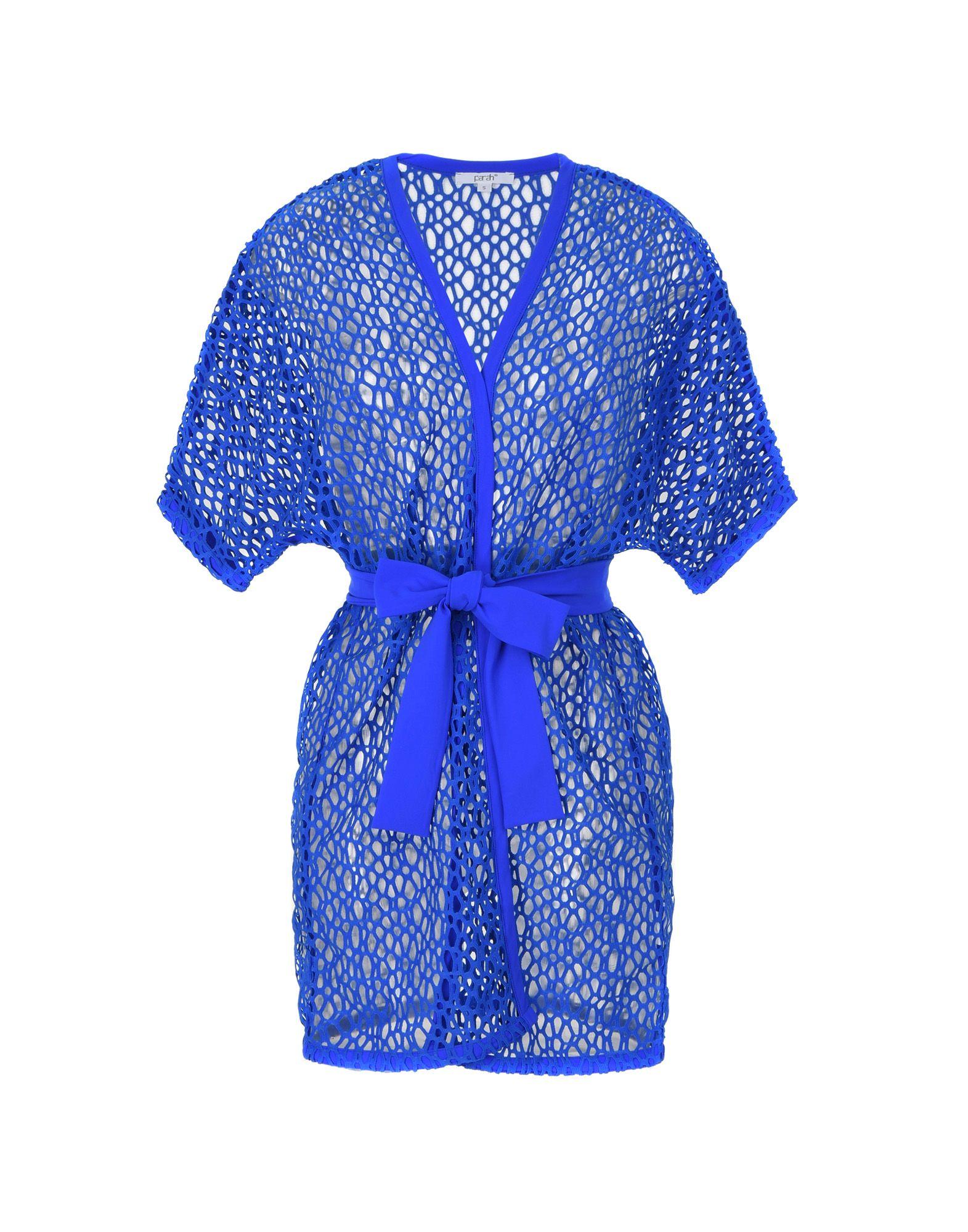 《送料無料》PARAH レディース ビーチドレス ブライトブルー S ポリエステル 100% Kimono