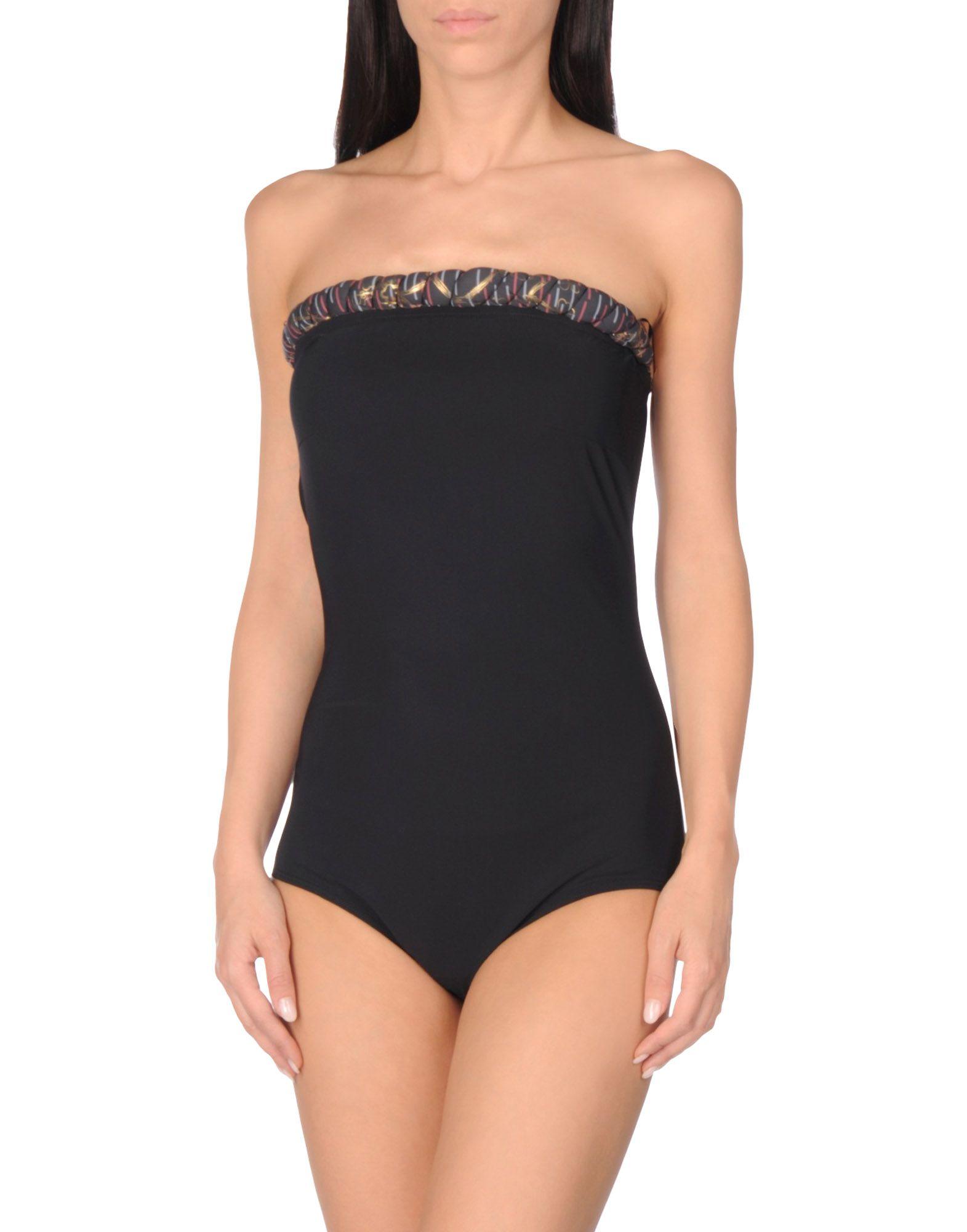 GOLDEN GOOSE DELUXE BRAND Damen Badeanzug Farbe Schwarz Größe 5