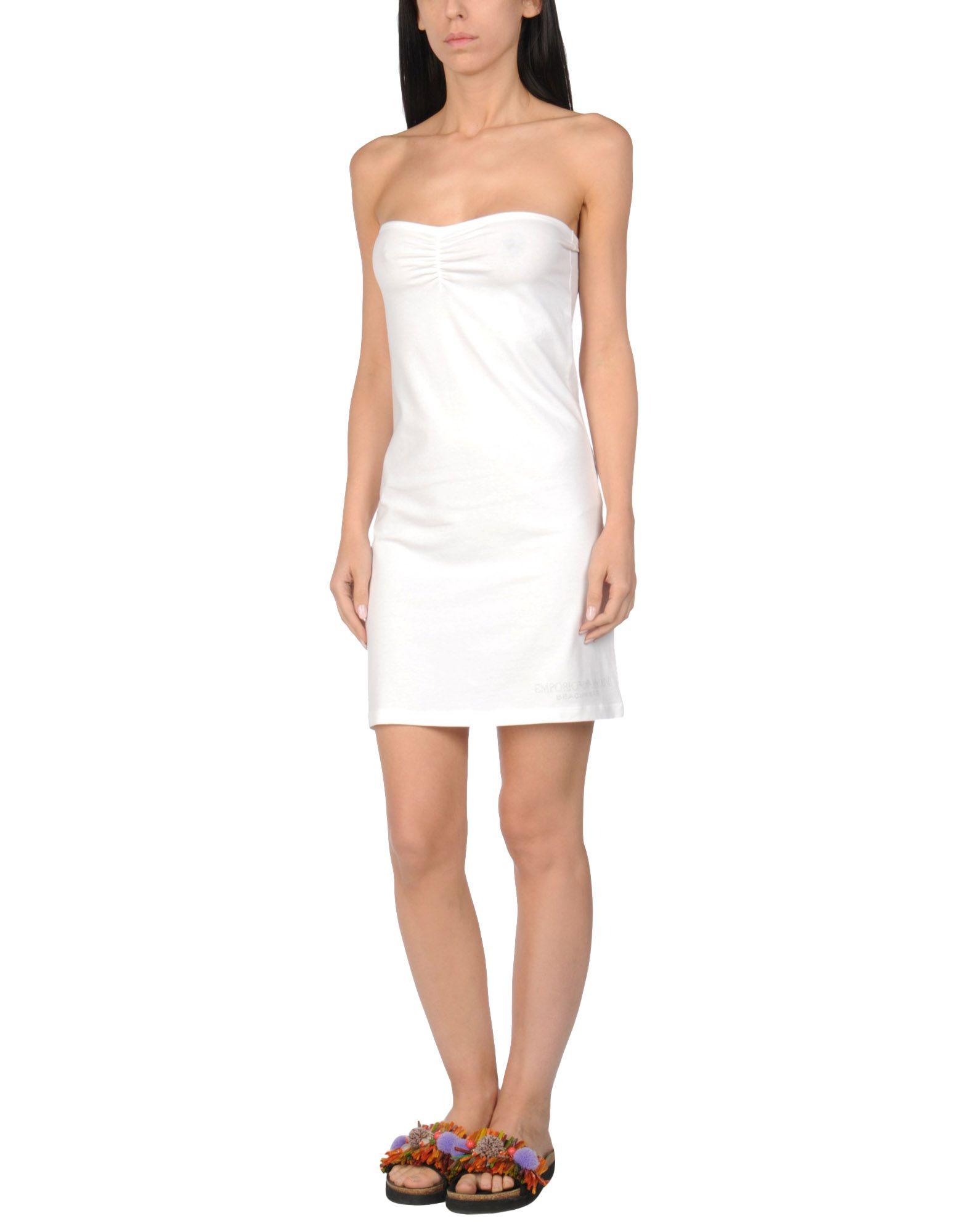 EMPORIO ARMANI SWIMWEAR Пляжное платье