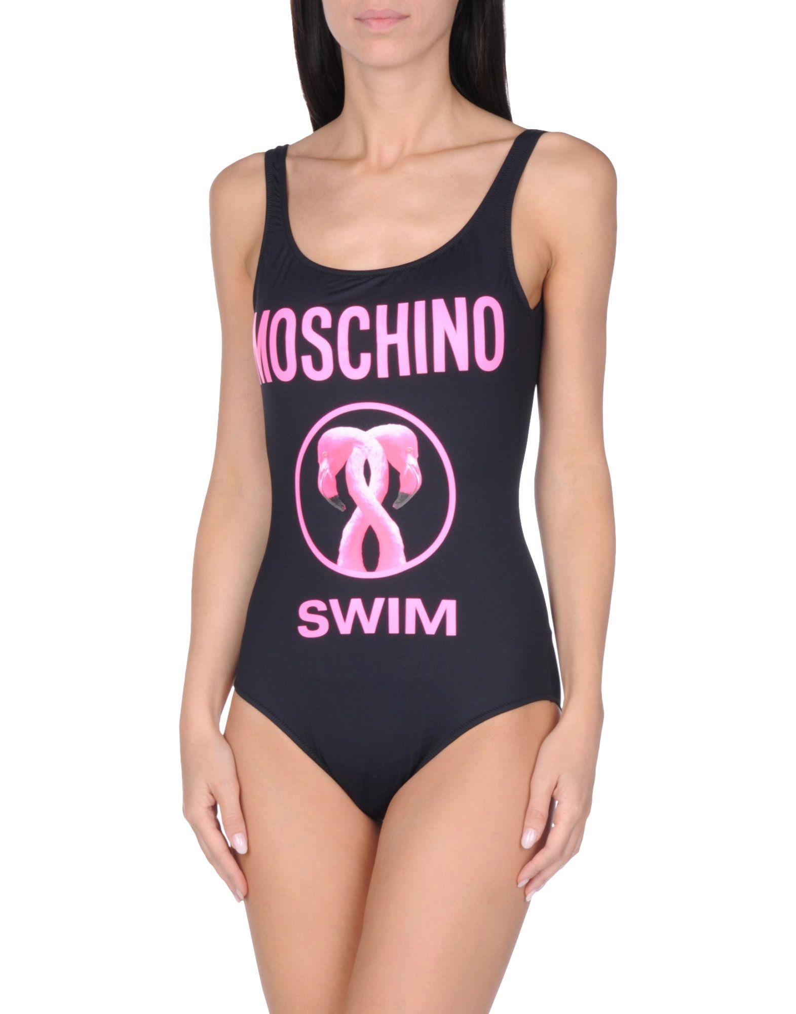 MOSCHINO SWIM Слитный купальник купальник moschino moschino mo351ewqhg82