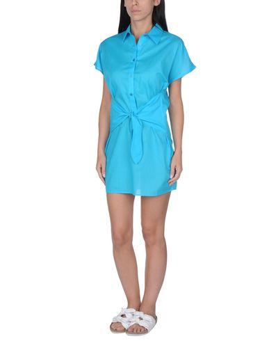 Фото - Пляжное платье бирюзового цвета