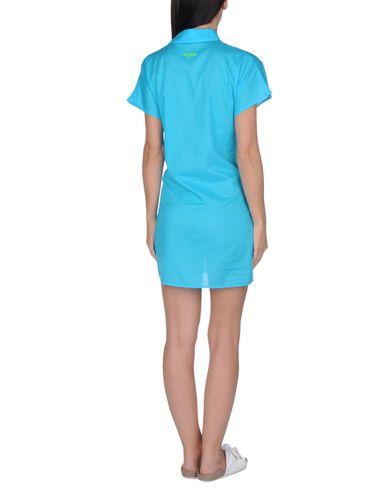 Фото 2 - Пляжное платье бирюзового цвета