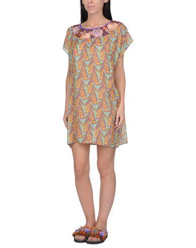 Купить Пляжное платье цвет охра