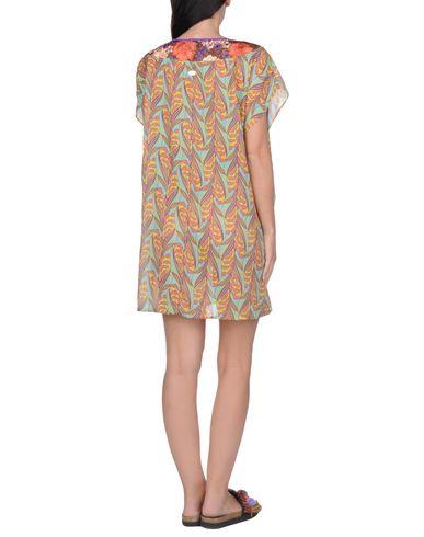 Фото 2 - Пляжное платье цвет охра
