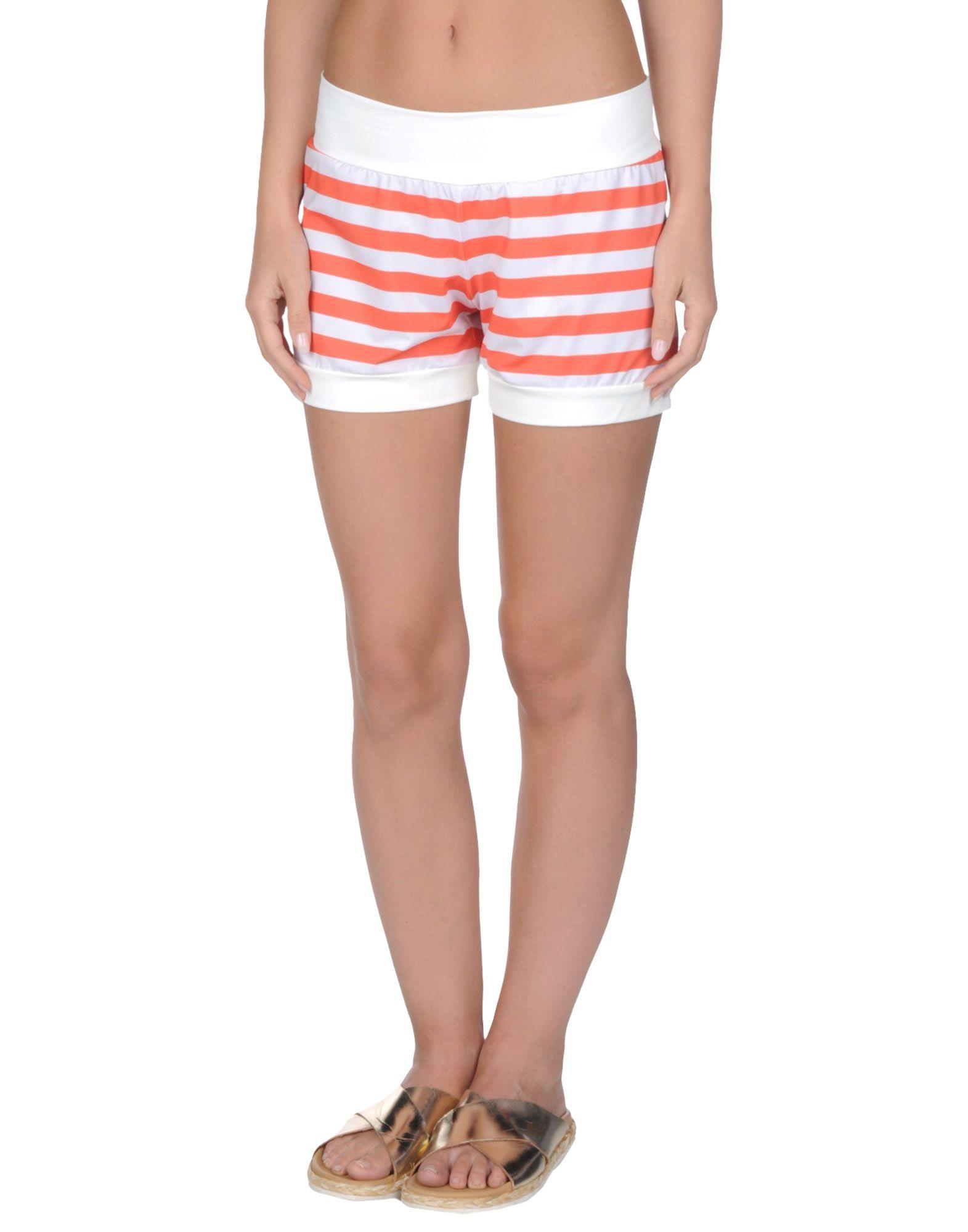 Фото TWIN-SET Simona Barbieri Пляжные брюки и шорты. Купить с доставкой