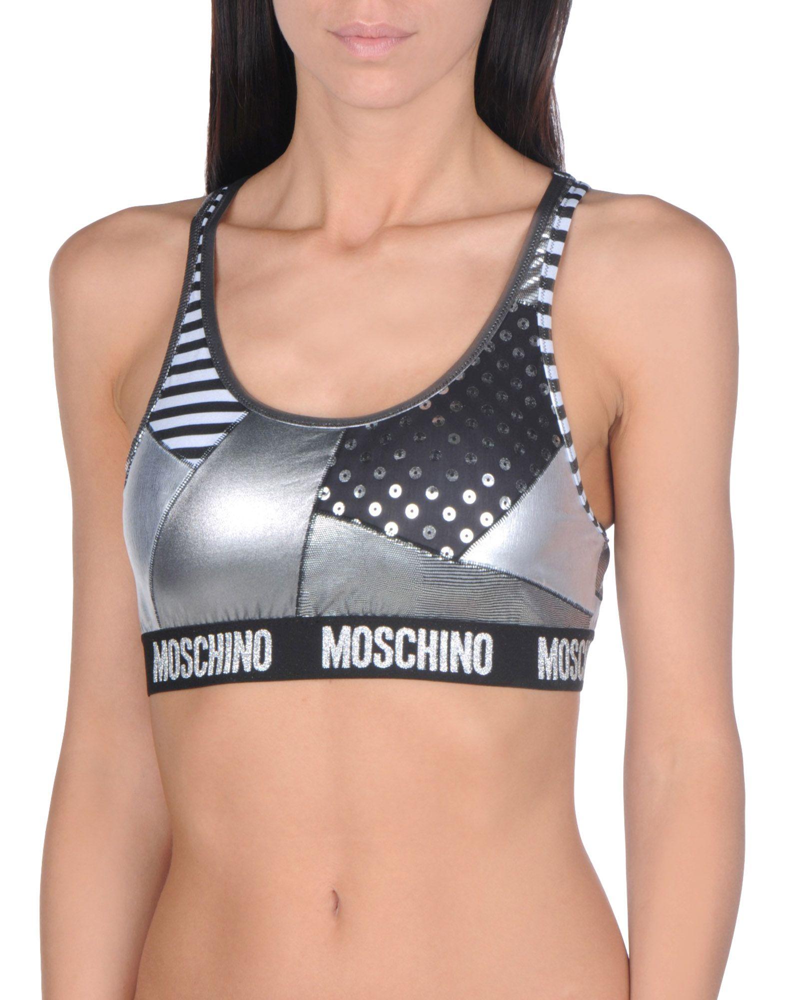 MOSCHINO SWIM Купальный бюстгальтер бюстгальтер moschino moschino mo351ewmid67