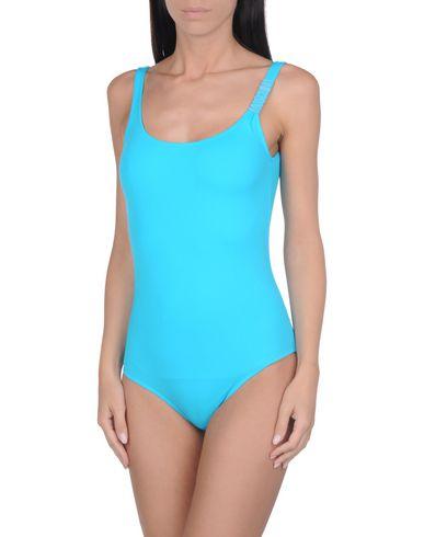 Купить Слитный купальник лазурного цвета