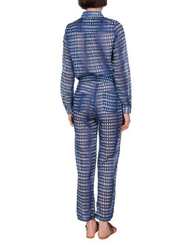 LEMLEM Damen Strandkleid Blau Größe M 100% Baumwolle