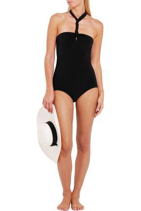 NORMA KAMALI Convertible halterneck swimsuit