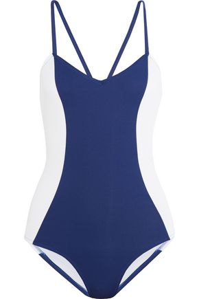 IRIS AND INK Color-block swimsuit