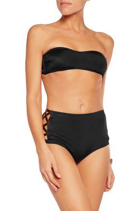 NORMA KAMALI Bandeau bikini top