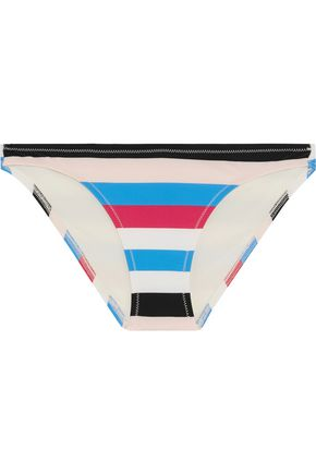SOLID & STRIPED Chloe striped bikini briefs