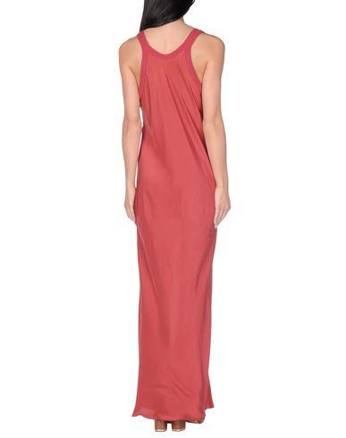 Фото 2 - Пляжное платье красно-коричневого цвета