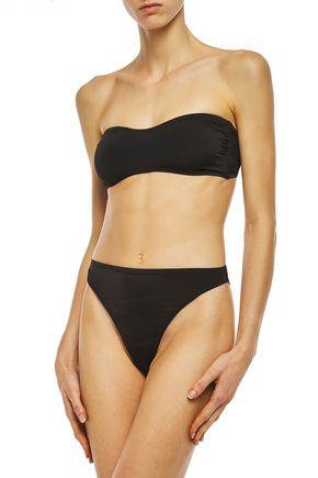 NORMA KAMALI Sunglass bandeau bikini top