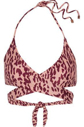 VIX Bali cutout halterneck bikini top