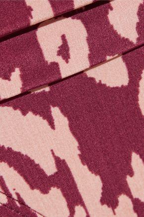 VIX PAULAHERMANNY Bali Carmel mid-rise fold-over printed bikini briefs