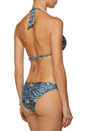 VIX PAULAHERMANNY Jakarta low-rise printed bikini briefs