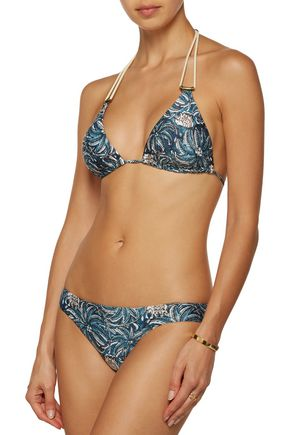 VIX Jakarta low-rise printed bikini briefs