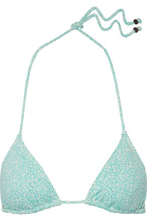 EBERJEY Havana Soul Gisele printed triangle bikini top