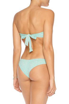 EBERJEY Havana Soul Lolita printed bandeau bikini top