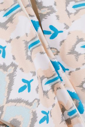 EBERJEY Bleached Blues Coco low-rise printed bikini briefs