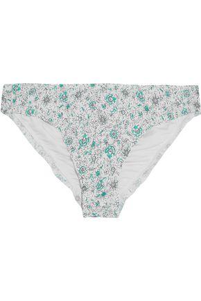 EBERJEY Isla Verde low-rise printed bikini briefs