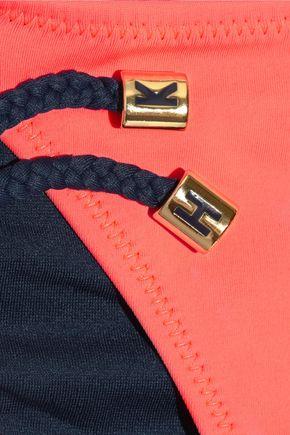 HEIDI KLUM SWIM Sun Muse low-rise embellished bikini briefs