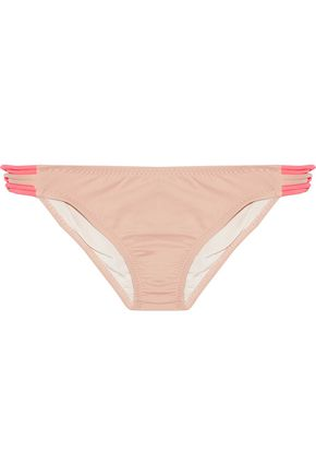 EBERJEY Sunrise Jagger cutout low-rise bikini briefs