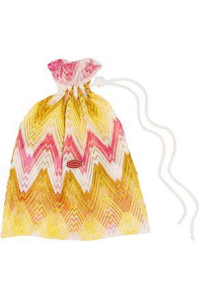 MISSONI Mare crochet-knit bandeau bikini