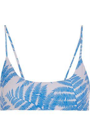 MIKOH Hermosa printed bikini top