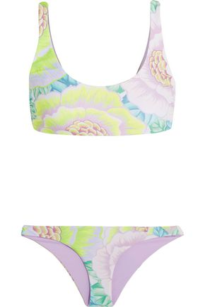 MARA HOFFMAN Neon printed bikini