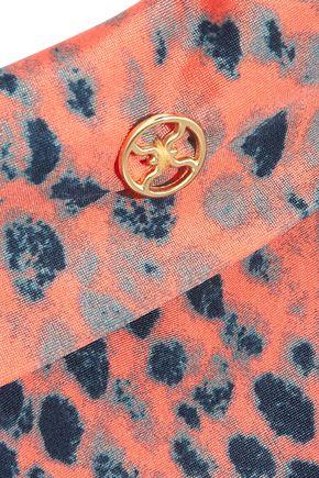 VIX Bia snake-print bikini briefs