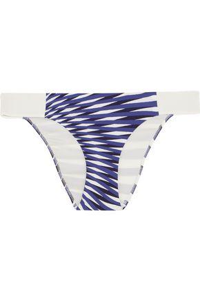 LA PERLA Op-Art printed bikini briefs