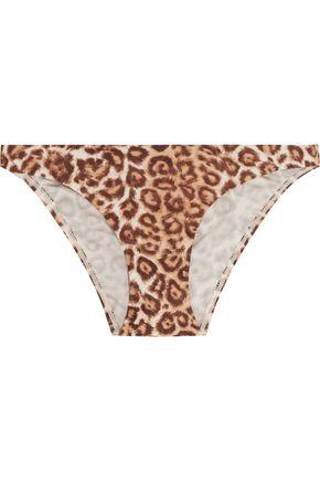 ZIMMERMANN Alchemy low-rise leopard-print bikini briefs