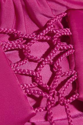 VIX Braided halterneck bikini top