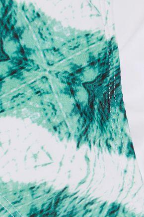 VIX Low-rise embellished printed bikini briefs