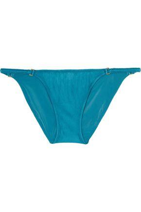VIX Ruched low-rise bikini briefs