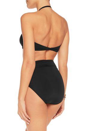 NORMA KAMALI Ruched bikini top