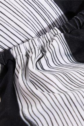 NORMA KAMALI Jason printed halterneck bikini top