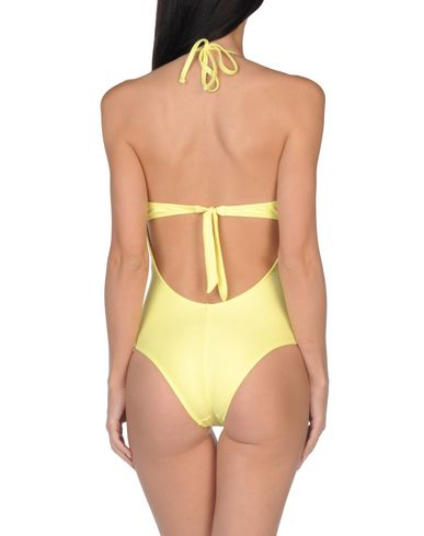 Фото 2 - Слитный купальник от HELIS BRAIN желтого цвета