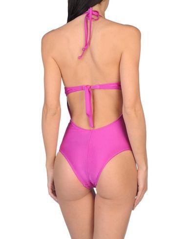 Фото 2 - Слитный купальник от HELIS BRAIN фиолетового цвета
