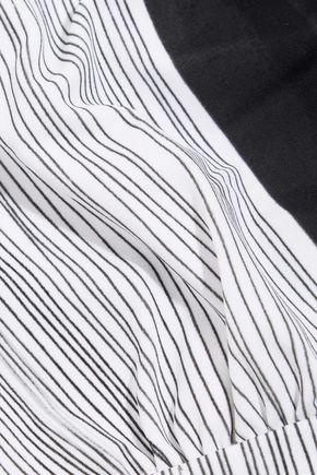 NORMA KAMALI Andy cutout printed swimsuit