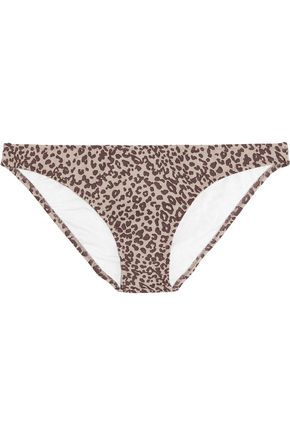 EBERJEY Cheetah Girl Valentina leopard-print bikini briefs