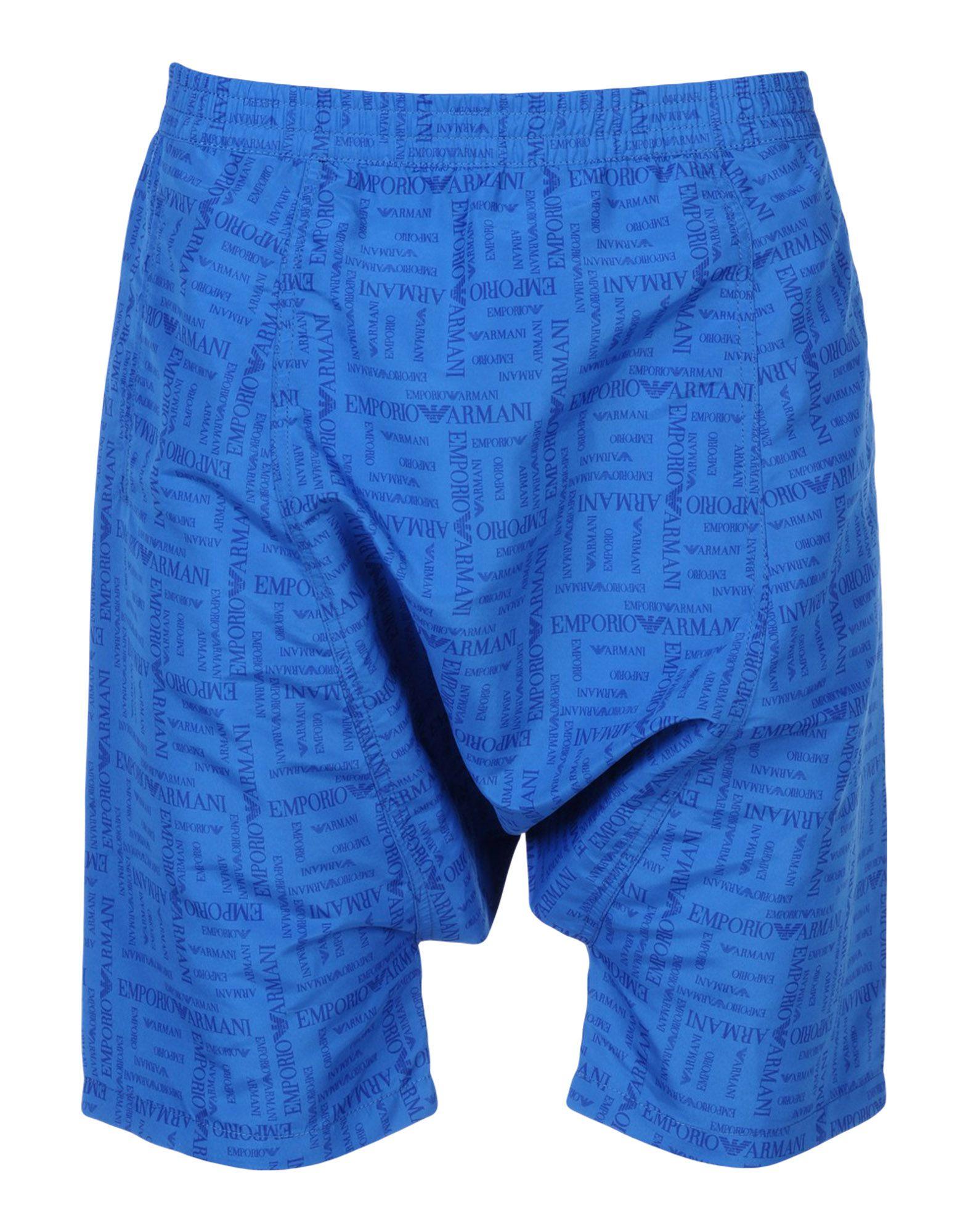 EMPORIO ARMANI SWIMWEAR Пляжные брюки и шорты emporio armani повседневные шорты