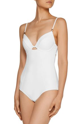 HEIDI KLUM SWIM Sun Muse cutout underwired swimsuit